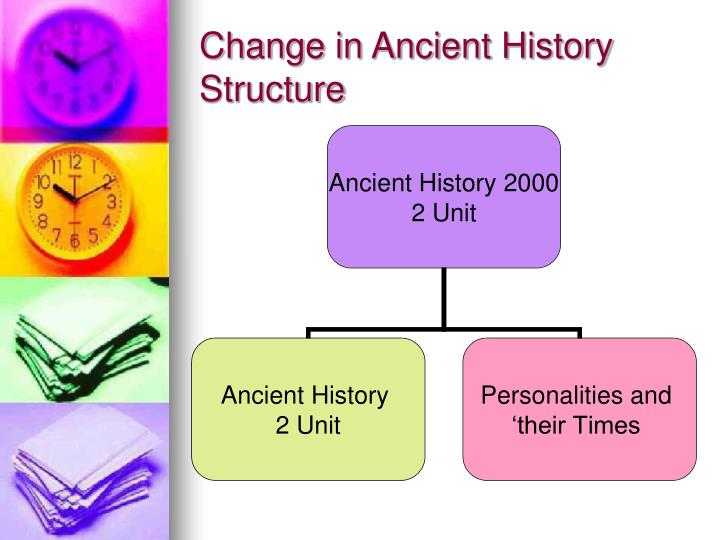 Change in Ancient History Structure
