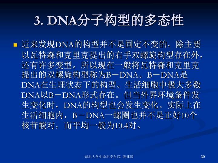 3. DNA
