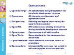 open process