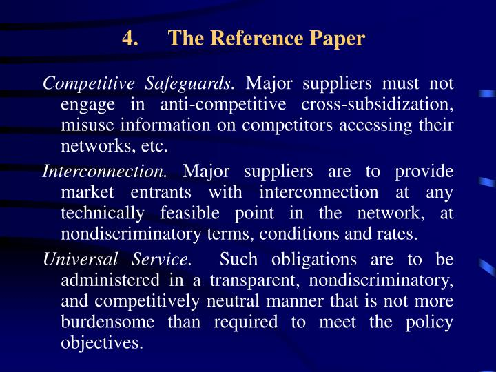 The Reference Paper