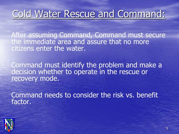Cold Water Rescue and Command: