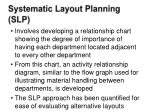 systematic layout planning slp