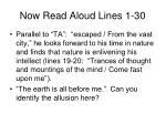 now read aloud lines 1 30