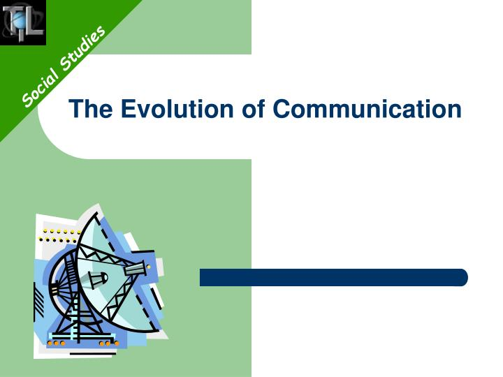the evolution of communication n.