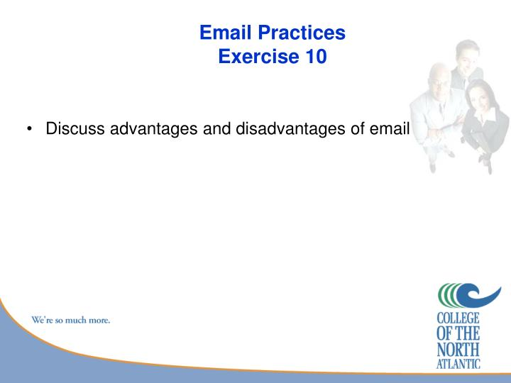 Email Practices