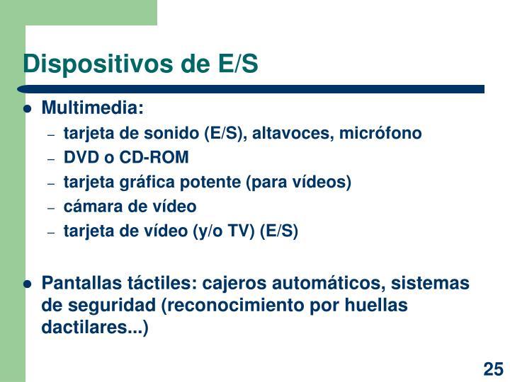 Dispositivos de E/S