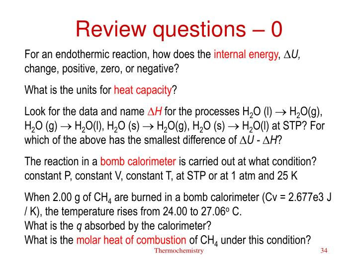 Review questions – 0