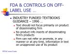 fda controls on off label use4