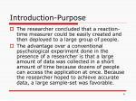 introduction purpose2