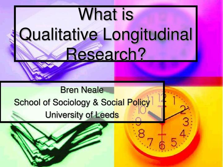 what is qualitative longitudinal research n.