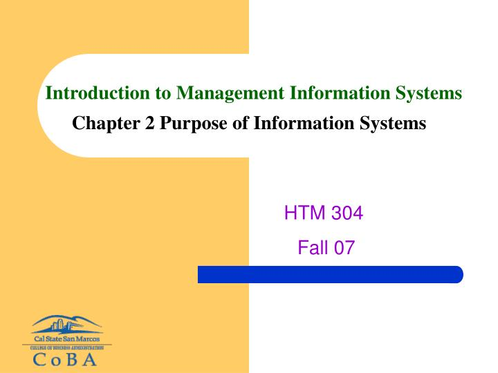 management information system summery With a degree in information systems, you will be able to navigate databases and other information systems, which are skills needed in almost every field.