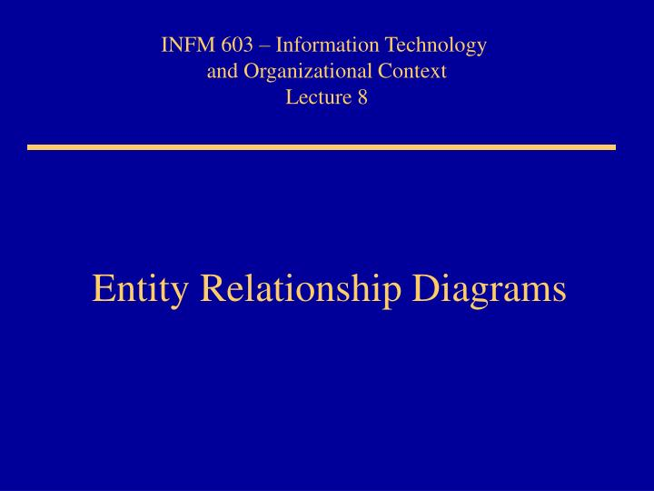 Ppt entity relationship diagrams powerpoint presentation id1278188 entity relationship diagrams ccuart Gallery