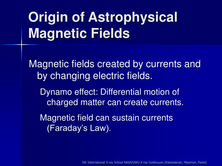 Origin of Astrophysical Magnetic Fields