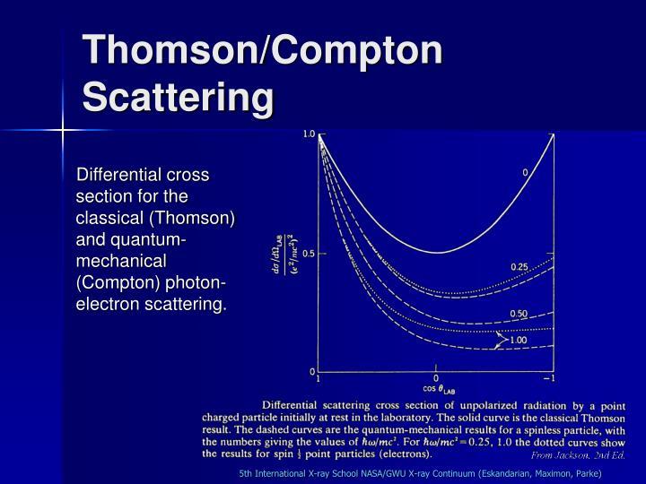 Thomson/Compton Scattering