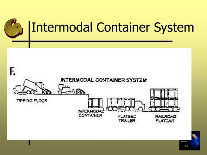 Intermodal Container System