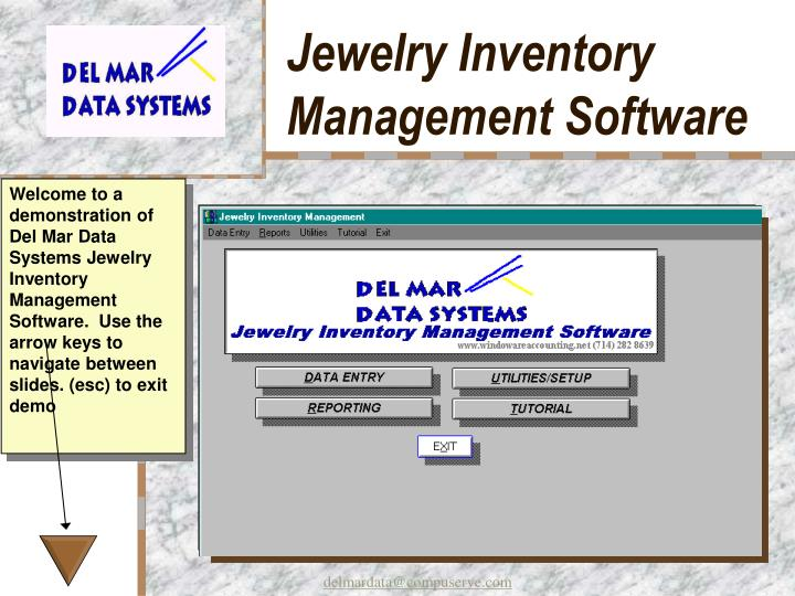 jewelry inventory management software n.