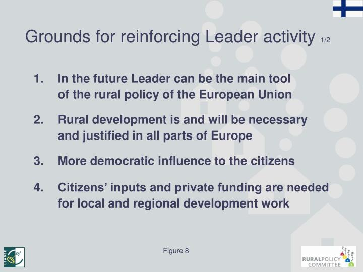 Grounds for reinforcing Leader activity