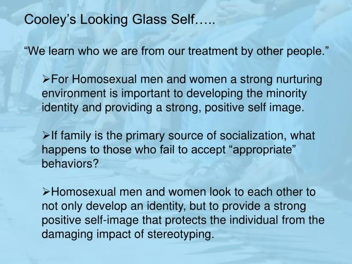 Cooley's Looking Glass Self…..