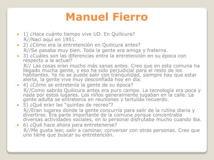 Manuel Fierro