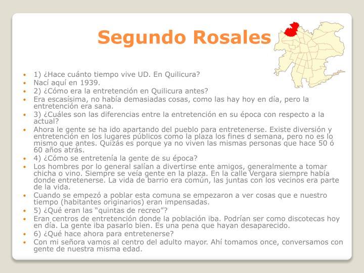 Segundo Rosales