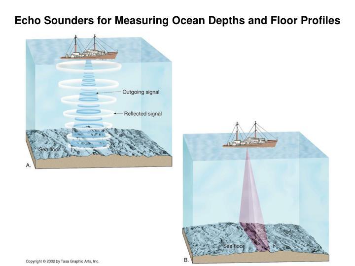 Echo Sounders for Measuring Ocean Depths and Floor Profiles