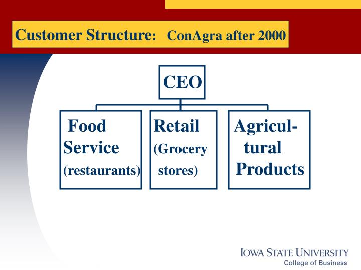 Customer Structure
