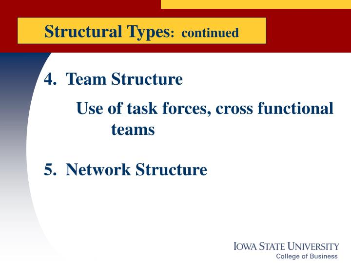 Structural Types