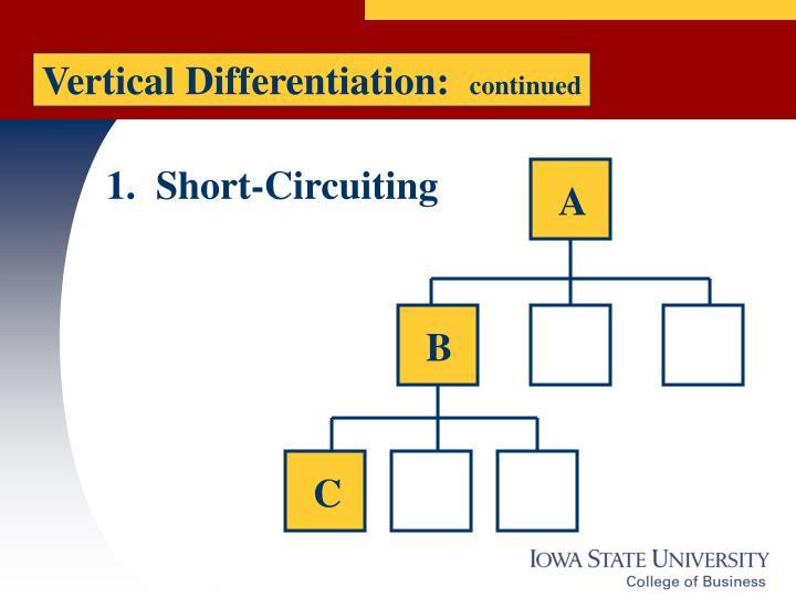 Vertical Differentiation: