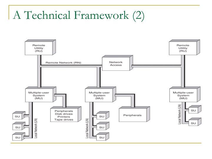 A Technical Framework (2)