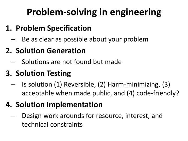 Problem-solving in