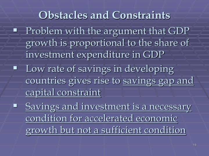 Factors that Determine Economic Growth and Development of a Country