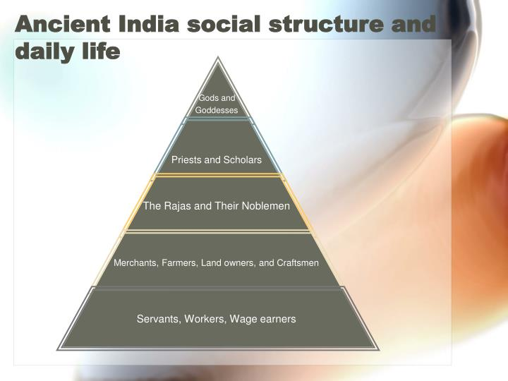 Ancient india social structure and daily life