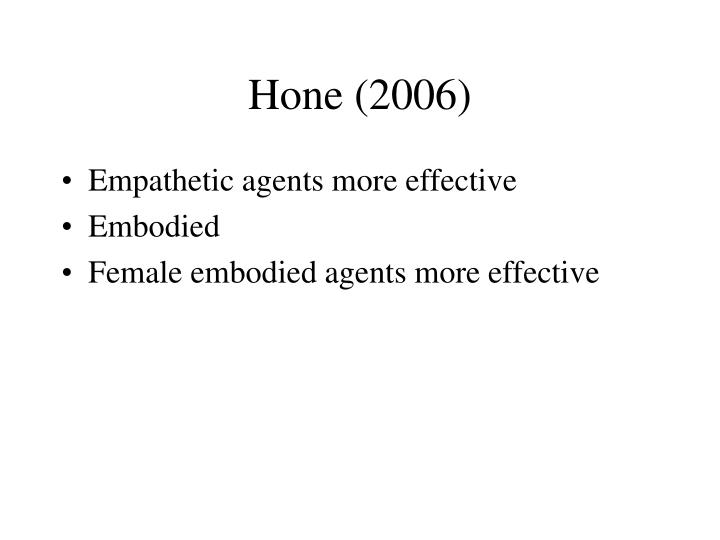 Hone (2006)