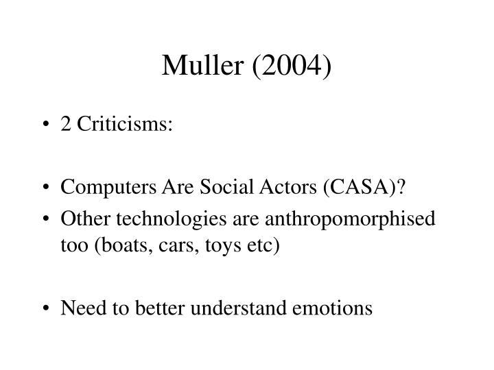 Muller (2004)