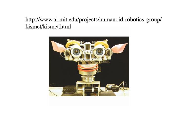 http://www.ai.mit.edu/projects/humanoid-robotics-group/