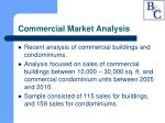 commercial market analysis