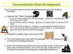 concessionaire does development