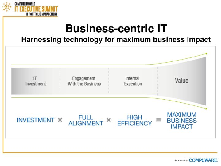 Business-centric IT