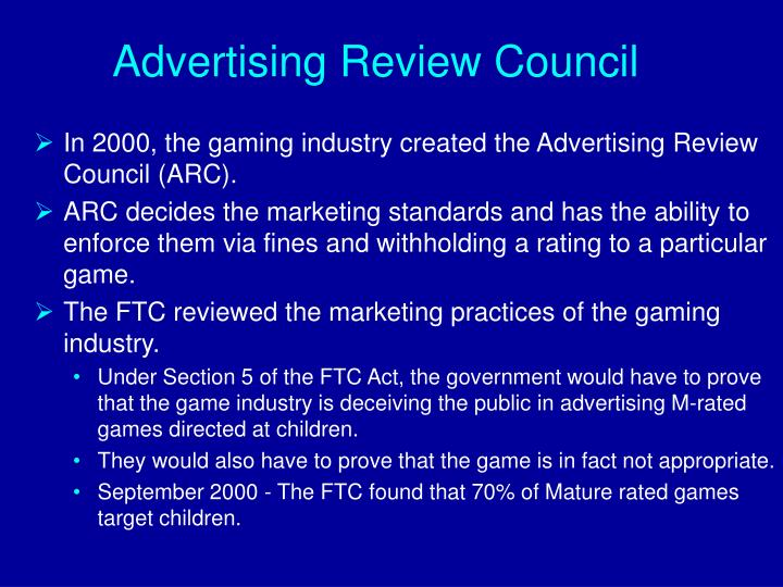 Advertising Review Council