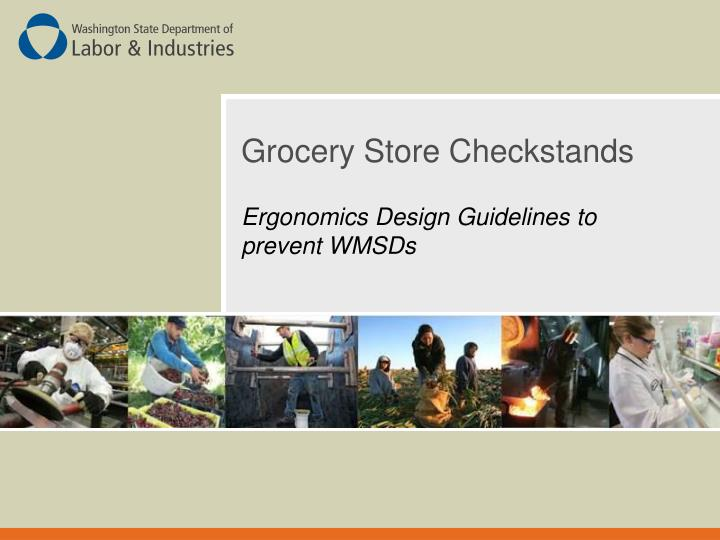 grocery store checkstands n.