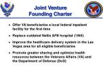 joint venture founding charter