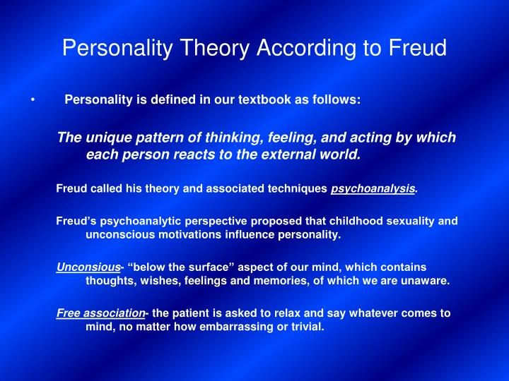 personality theory Personality test based on c jung and i briggs myers type theory provides your type formula, type description, career choices.