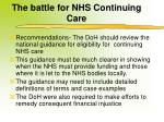 the battle for nhs continuing care2