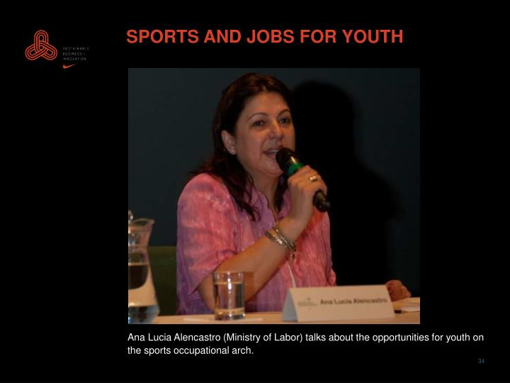 SPORTS AND JOBS FOR YOUTH