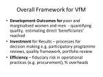 overall framework for vfm