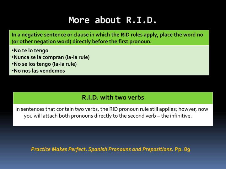 More about R.I.D.