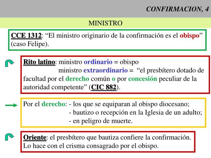 CONFIRMACION, 4