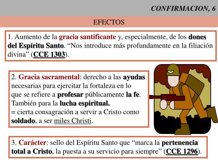 CONFIRMACION, 6