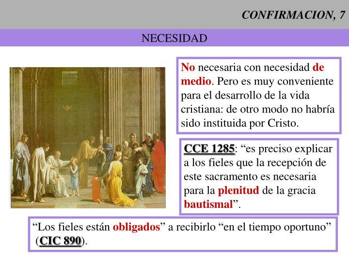 CONFIRMACION, 7