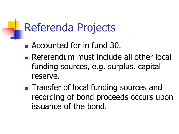 Referenda Projects